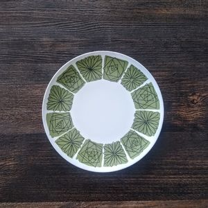 Vintage Texas Ware Abstract Pattern Melmac Plates